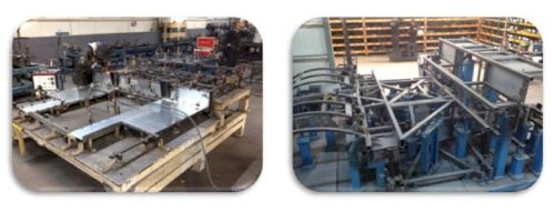 Bus Carcass / Body Production Line